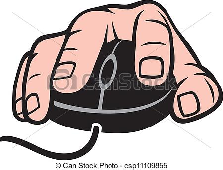 Finger clipart computer Mouse Search and and csp11109855