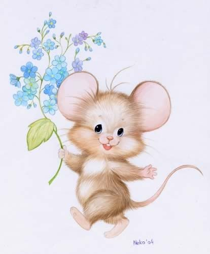 Drawn rodent adorable Mouse by Pin Clipart Fűkő