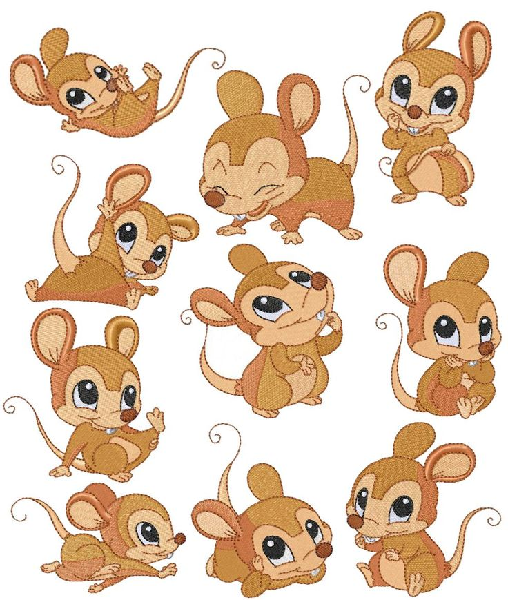 Mice clipart little mouse #11