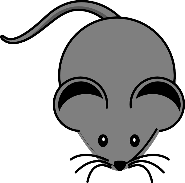 Simple clipart mouse #11