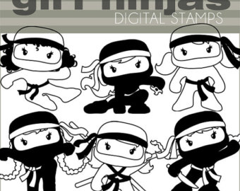 Ninja clipart mouse Ninjas Limited Happy and Cute