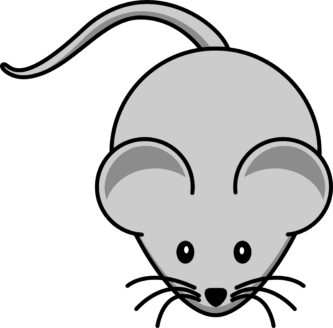 Mouse clipart printable #5