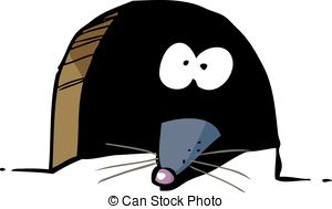 Mouse clipart mouse house Illustrations House in one with