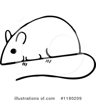 Simple clipart mouse #4