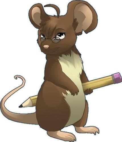 Rat clipart brown mouse #8
