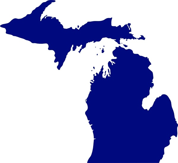 Michigan clipart Art Michigan  svg in