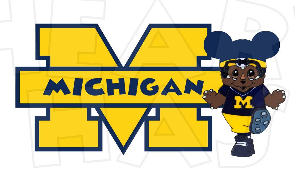 Michigan clipart Michigan Football Clipart #9