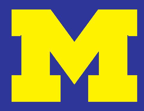 Michigan clipart Michigan Football Clipart #14