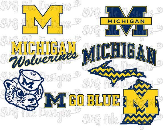 Michigan clipart Michigan Football Clipart #13