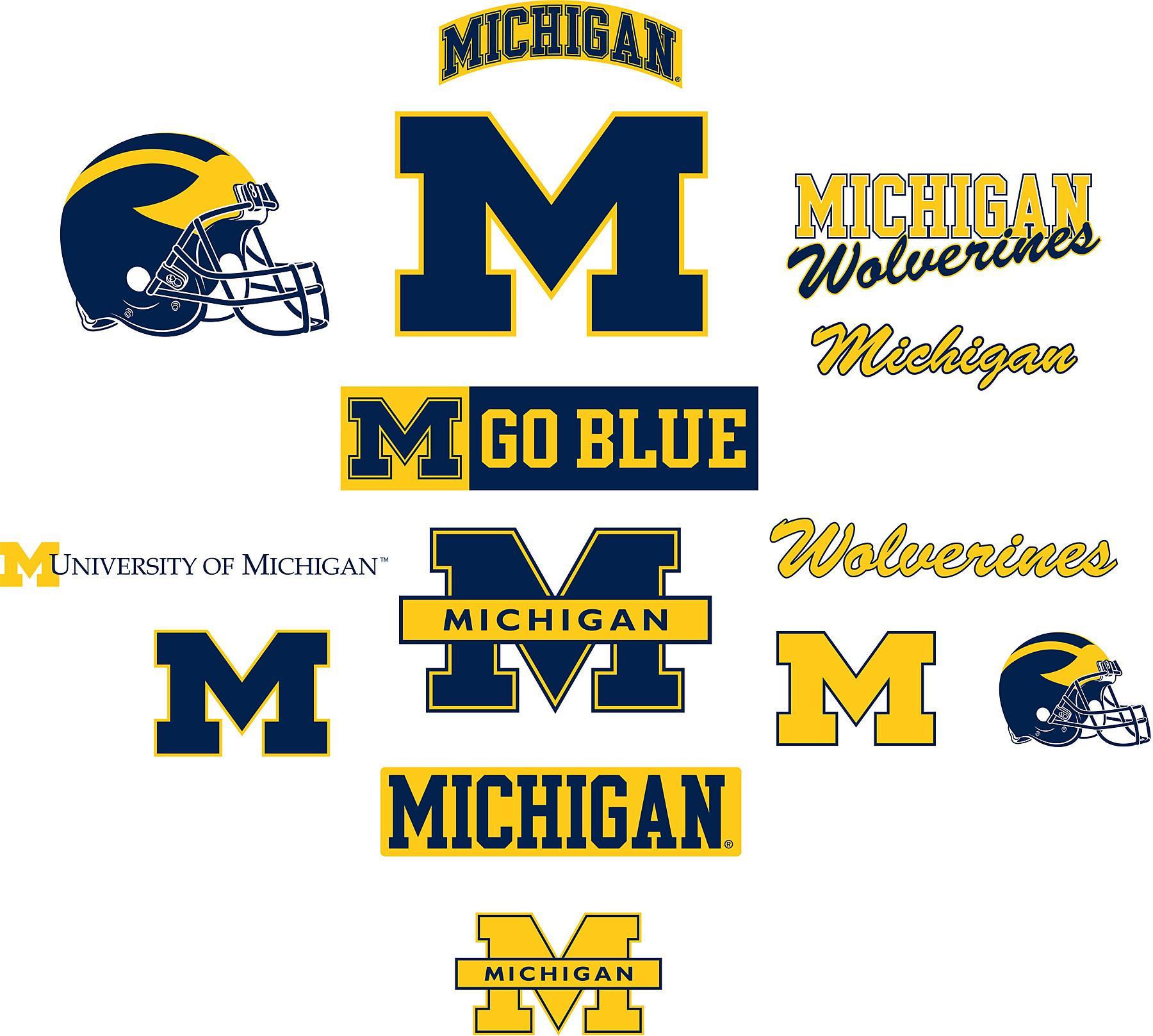 Michigan clipart Michigan Football Clipart #10