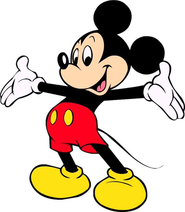 Mickey Mouse clipart #4