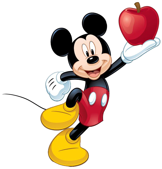 Mickey Mouse clipart apple W/Apple Clipart Mickey Mouse