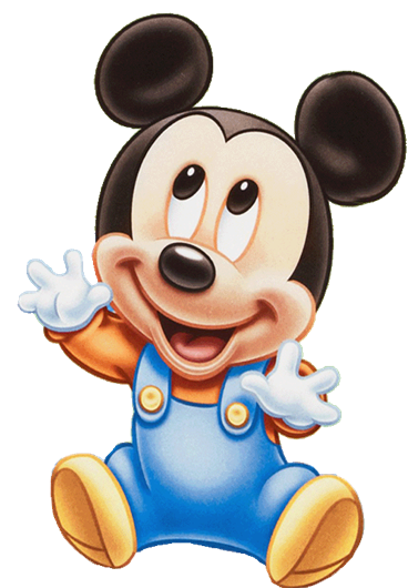 Mickey Mouse clipart baby Идеи для Baby Reach mickey