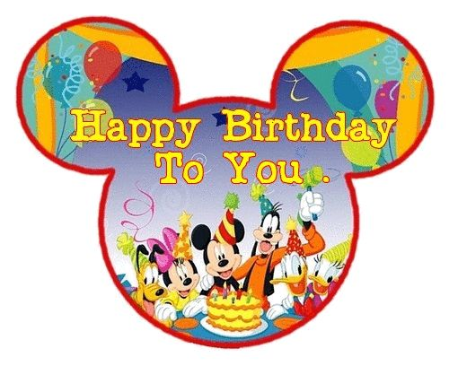 Mickey Mouse clipart birthday cake To tjn images on about