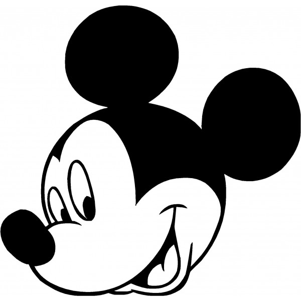 Mickey Mouse clipart black and white Back mouse clipart mouse mickey