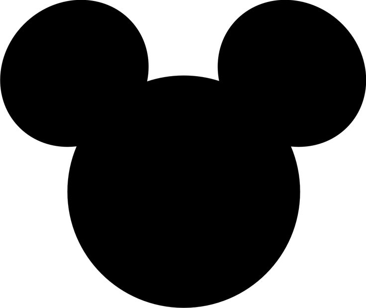 Shaow clipart mickey mouse Cutouts are large Pinterest where