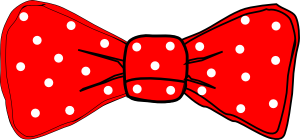 Tie clipart animated Mouse Red (56+) polka clip