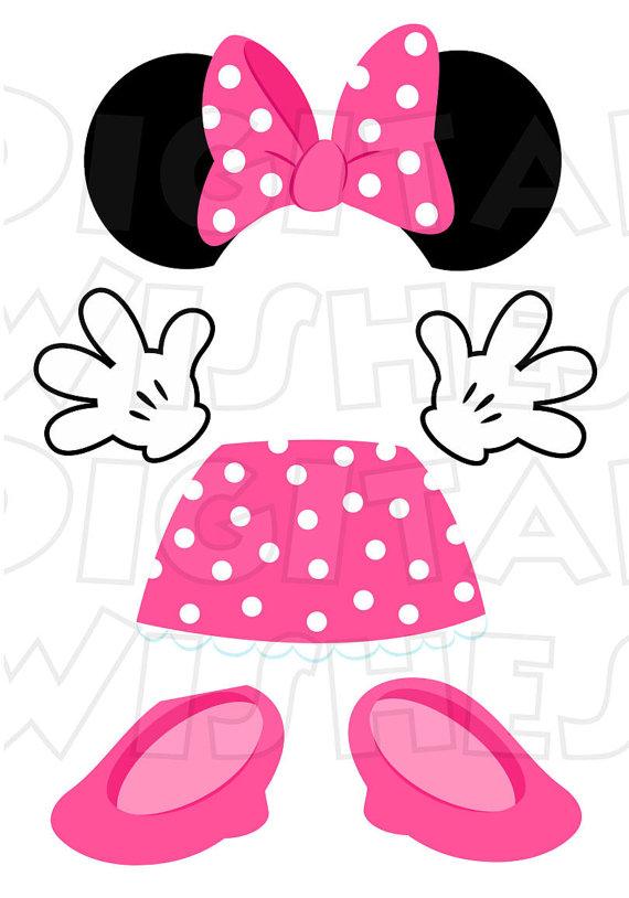 Ballerina clipart minnie mouse #15