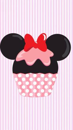 Mickey Mouse clipart cupcake #11