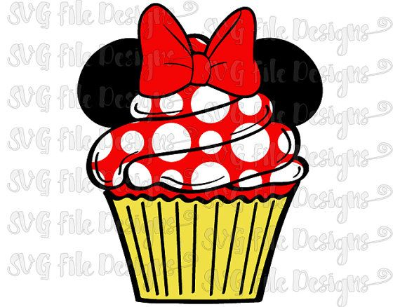 Mickey Mouse clipart cupcake #12