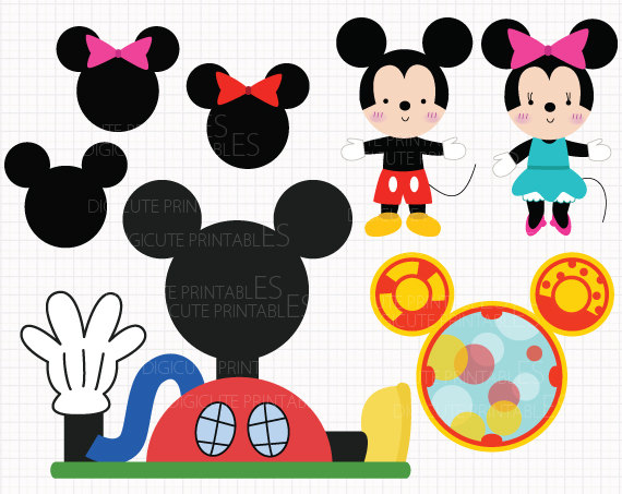 Mickey Mouse clipart cupcake #14