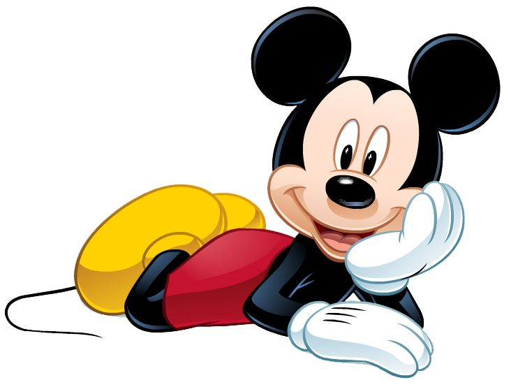 Mickey Mouse clipart cute #13