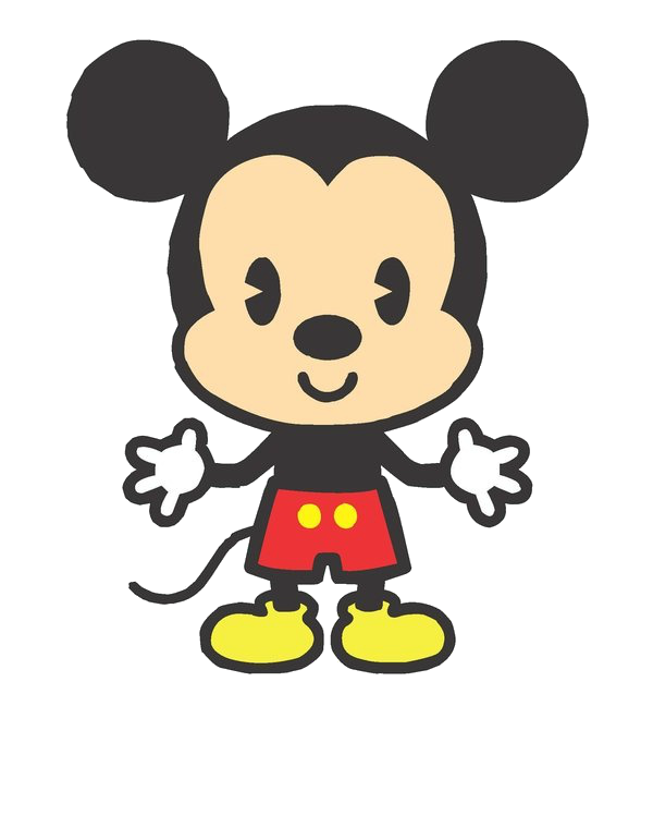 Mickey Mouse clipart cute #1