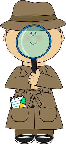 Problem clipart kid detective Magnifying Images Detective detective Detective
