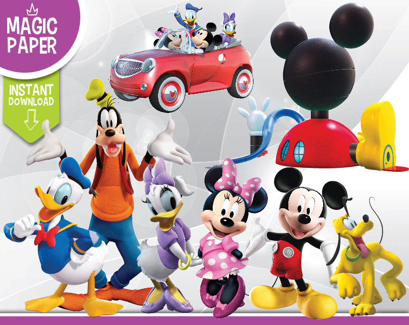 Mickey Mouse clipart digital 300 Images Mouse Photos Clubhouse