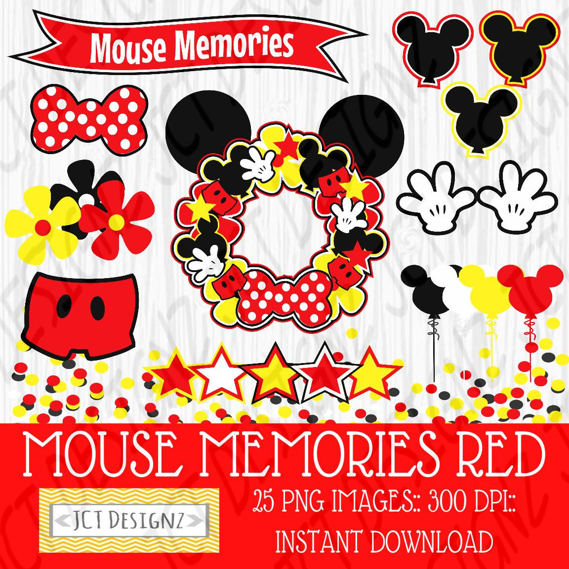 Mickey Mouse clipart digital Memories Mouse Mickey Inspired a