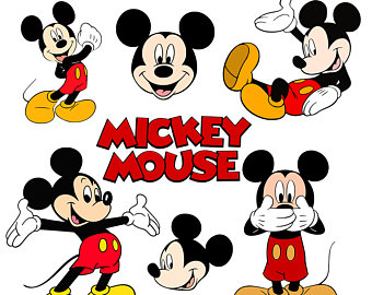 Mickey Mouse clipart disney logo Logo Cut Mickey Mickey mouse