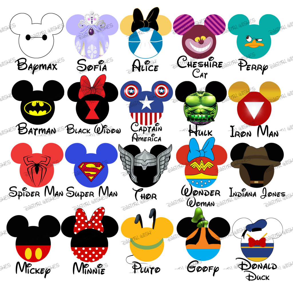 Disneyland clipart florida vacation MOUSE :: Disney digital Family