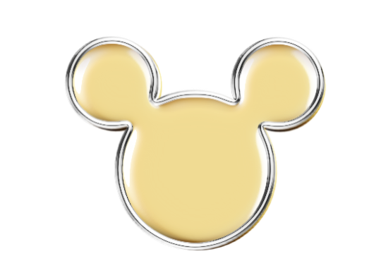 Mickey Mouse clipart gold #8