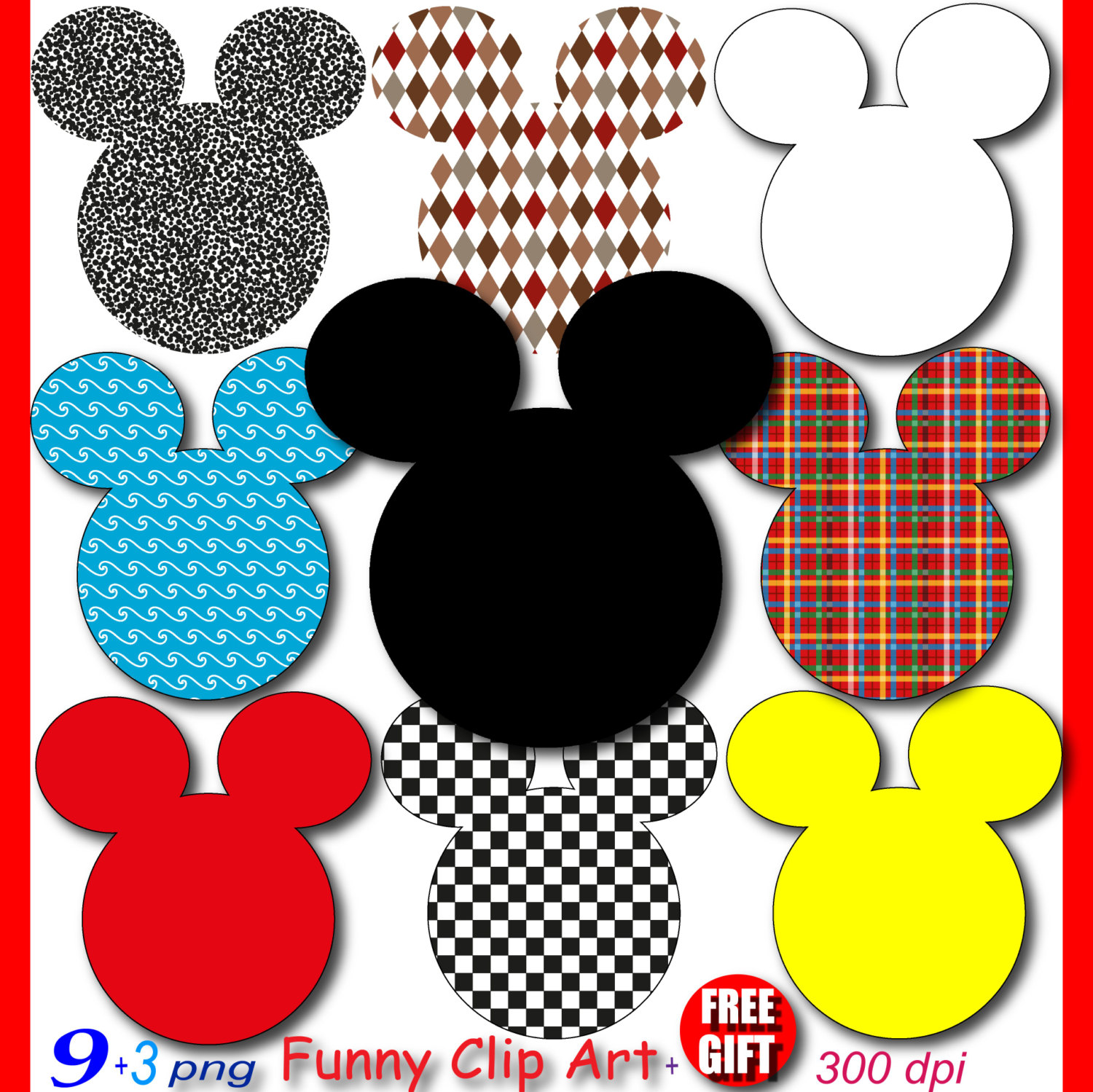 Mickey Mouse clipart gold Digital minnie is a clubhouse