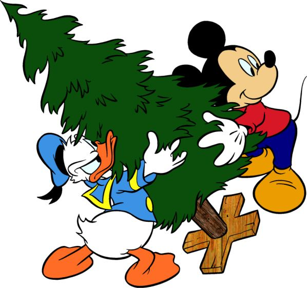 Mickey Mouse clipart holiday #4