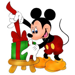 Mickey Mouse clipart holiday #2
