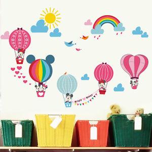 Mickey Mouse clipart hot air balloon #11