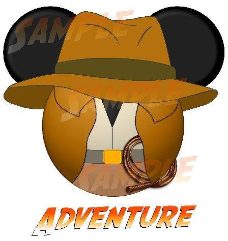 Indiana Jones clipart disney Printable Disney DIY images DIGITAL