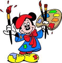 Mickey Mouse clipart magic Felt Mickey Pinterest Clip Art