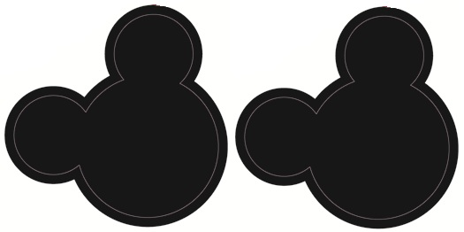 Mickey Mouse clipart mickey ear Art Wall Stickers Mickey Mouse