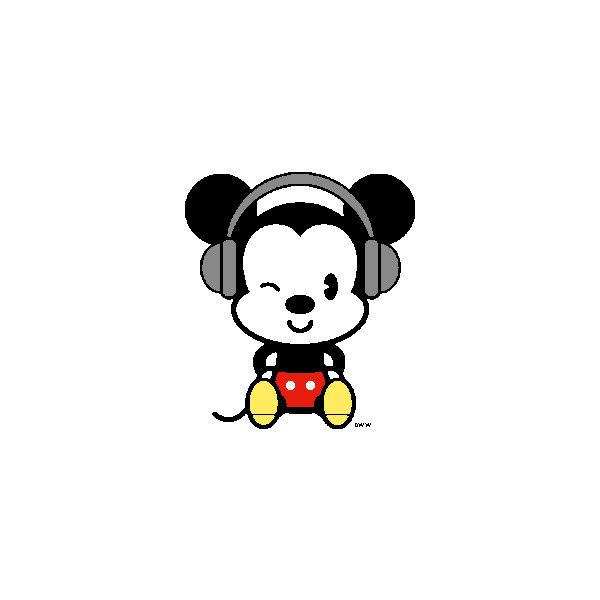 Mickey Mouse clipart mikkie Page Polyvore ❤ clipart on