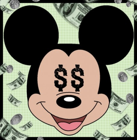 Mickey Mouse clipart money #9