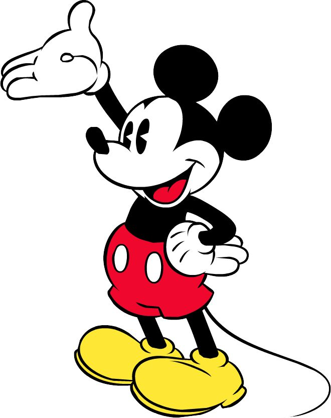 Mickey Mouse clipart money #3