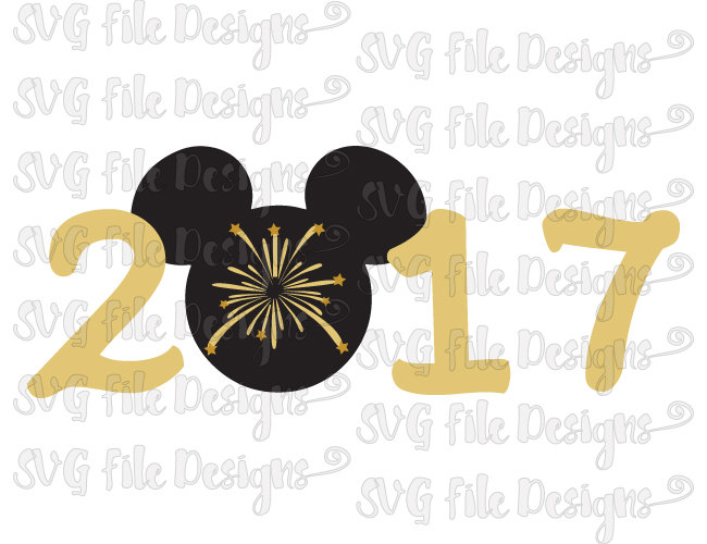 Mickey Mouse clipart new year Mouse 2017 Layered Layered Clipart