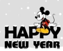 Mickey Mouse clipart new year Mouse Mickey Pinterest happy new