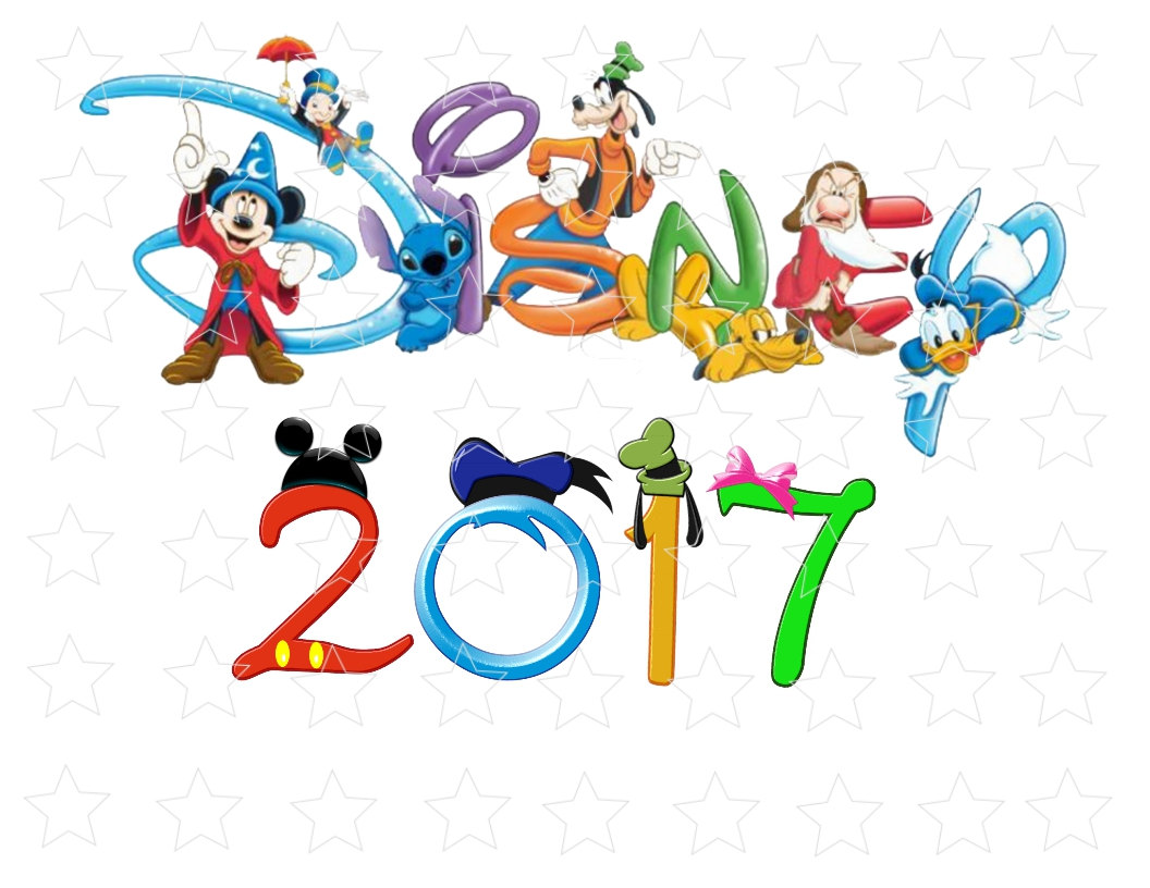 Mickey Mouse clipart new year 2017 Family Party year New