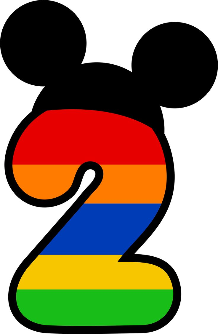 Mickey Mouse clipart number 2 #15