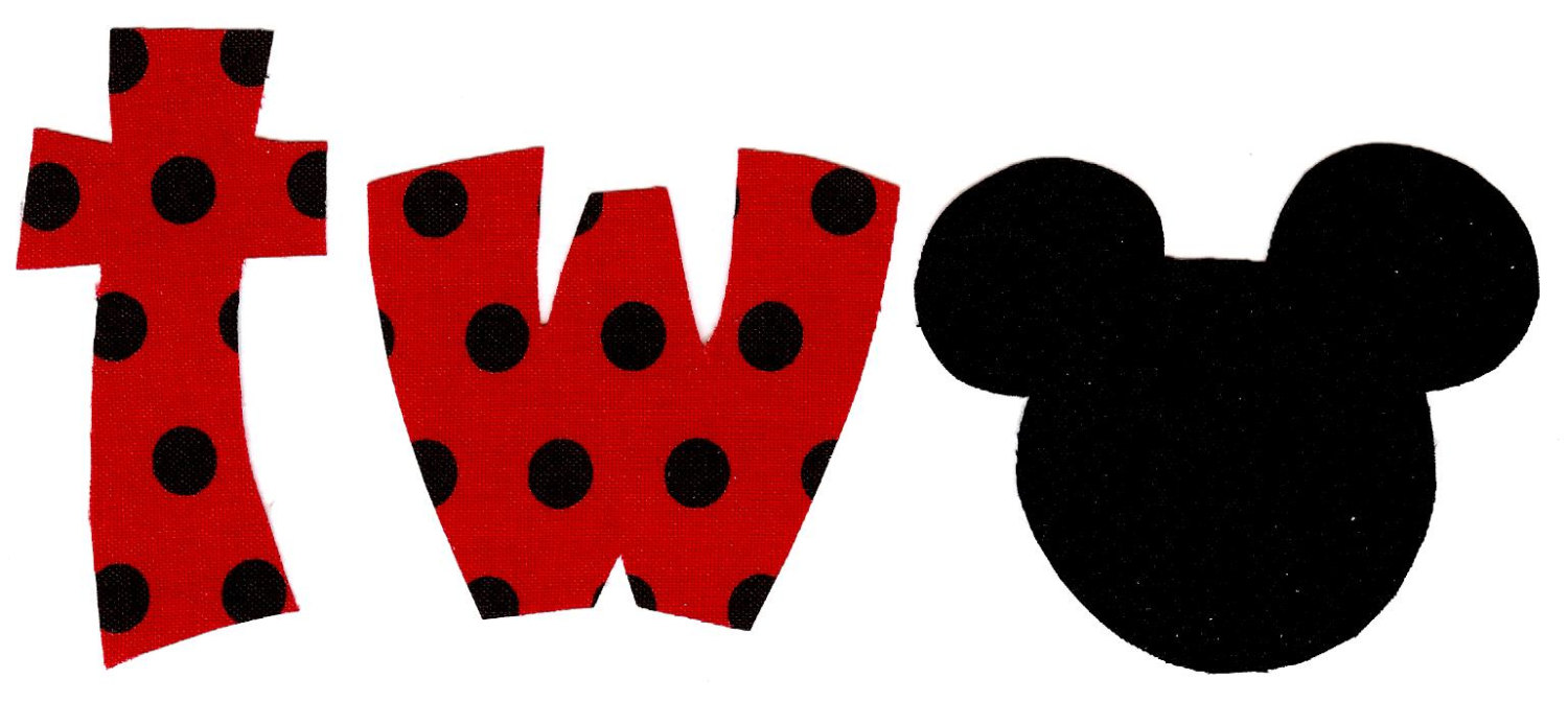 Mickey Mouse clipart number 2 #14