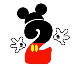 Mickey Mouse clipart number 2 #2