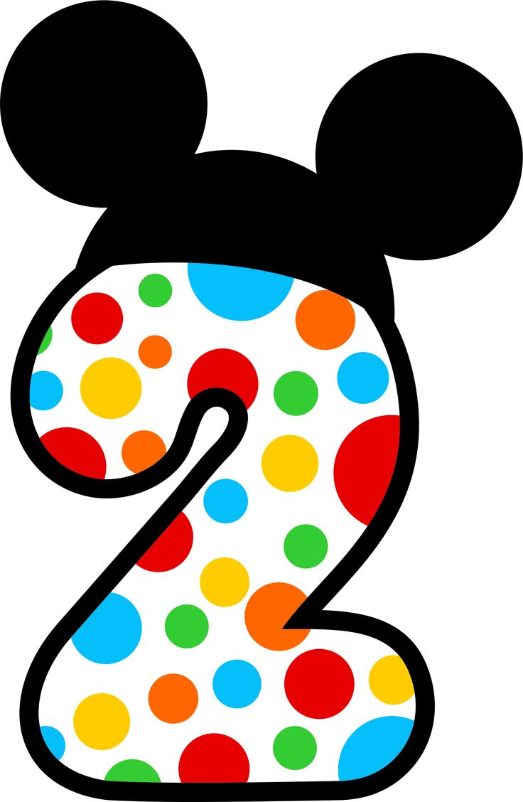 Mickey Mouse clipart number 2 #4